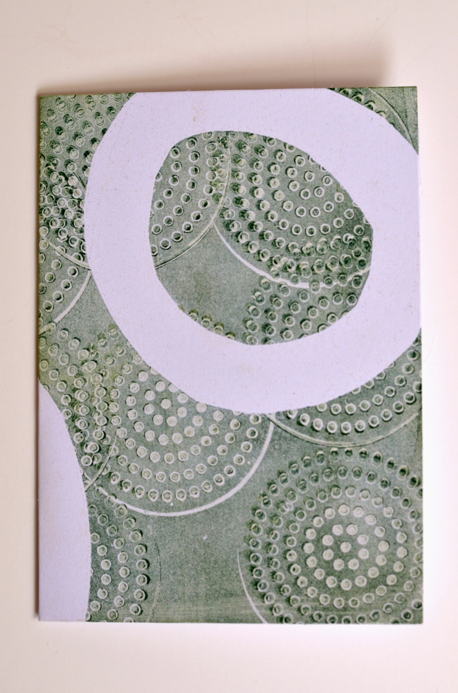 Cathy Savage-Sea of Green Note Card