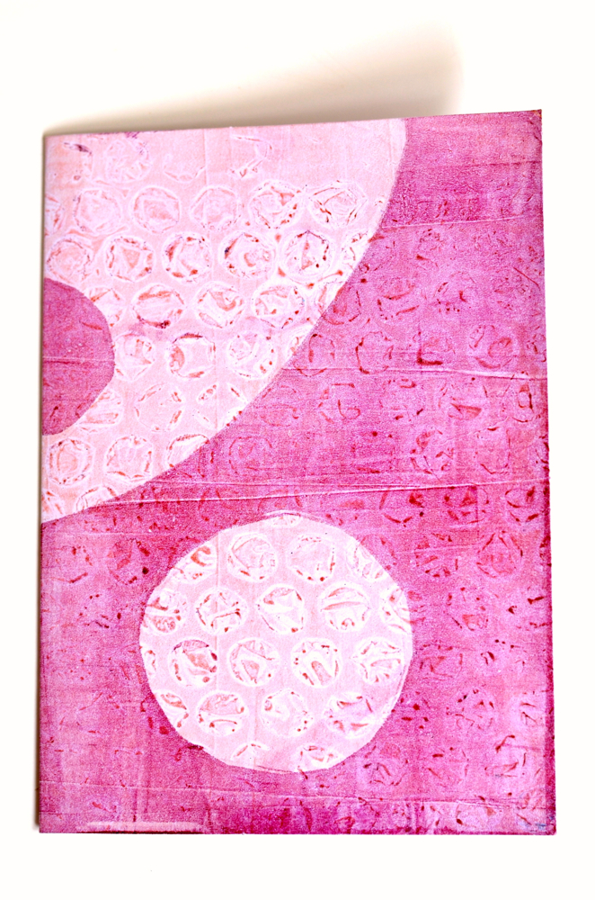 Cathy Savage-Pink Moons Note Card