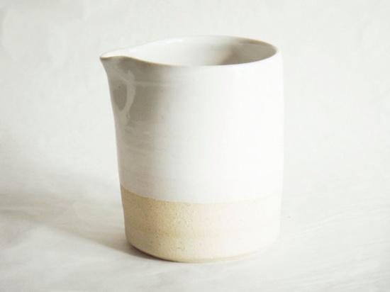 Pottery Milk creamer