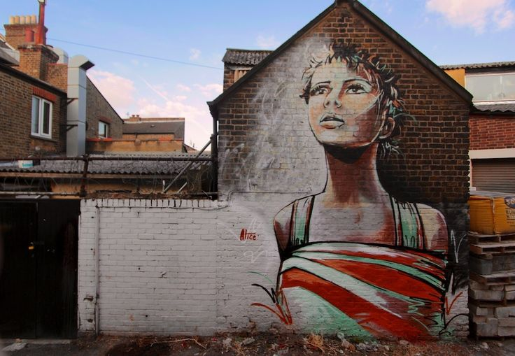 Graffiti Art-Alice of London