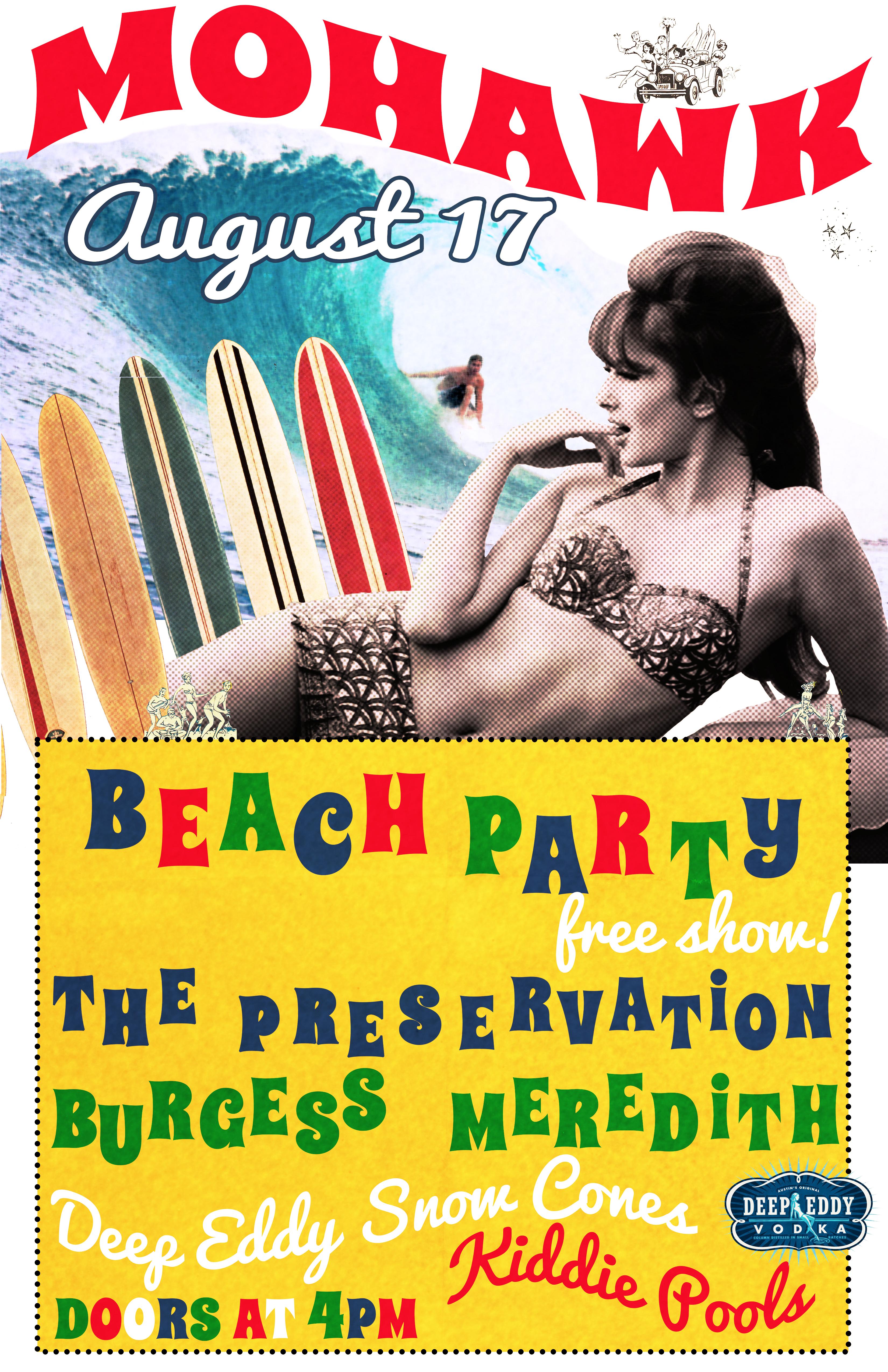 Austin Events-Beach Party