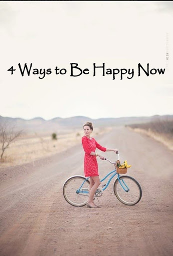 Inspiring Links-4 Ways to be Happy