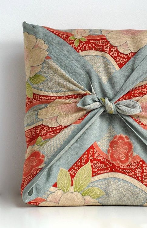 Fabric Wrapped Pillow