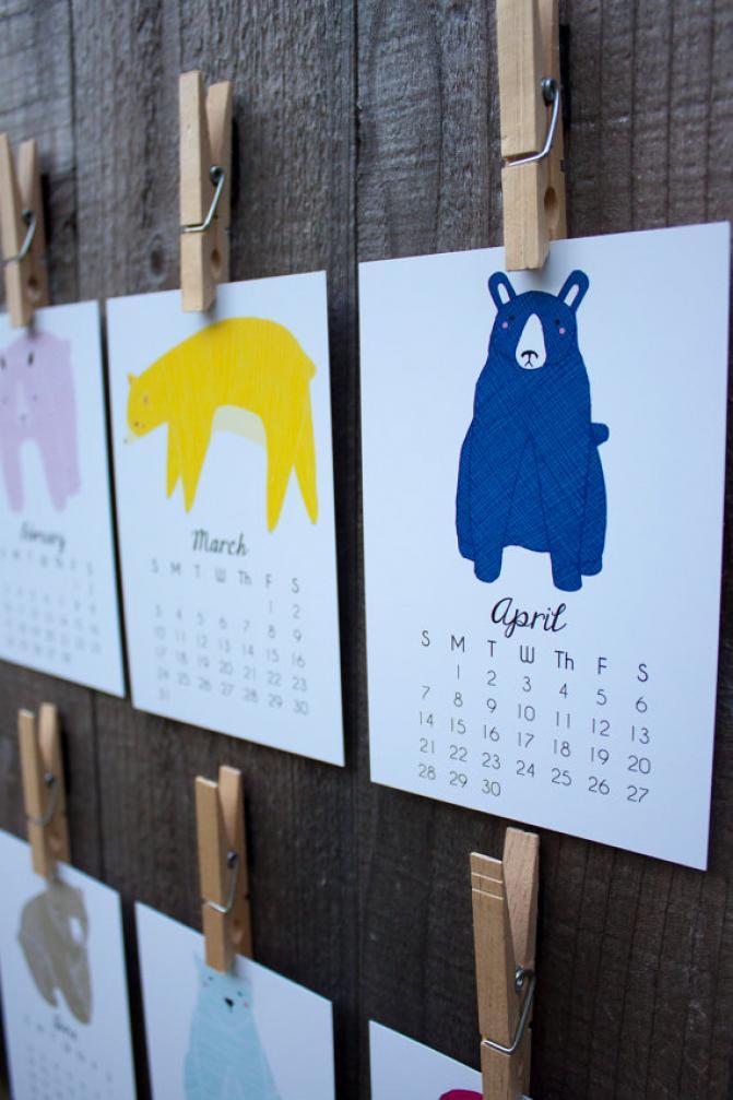 2014 Gingiber Calendar