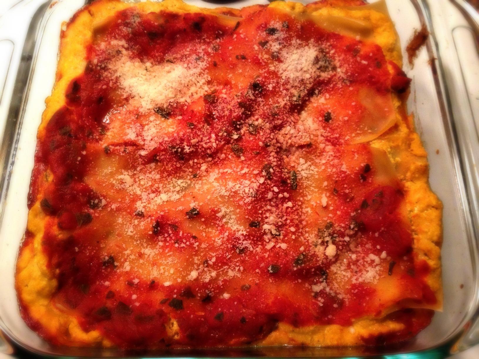 Pumpkin and Ricotta Lasagna